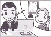 1.電話受付